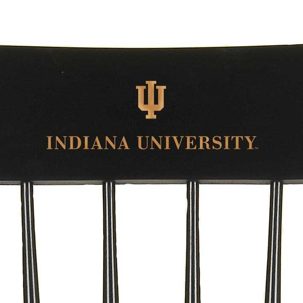 Indiana University Captain's Chair by Hitchcock - Image 2