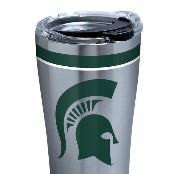 Michigan State 20 oz. Stainless Steel Tervis Tumblers with Hammer Lids - Set of 2 - Image 2