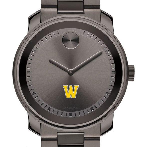 Williams College Men's Movado BOLD Gunmetal Grey
