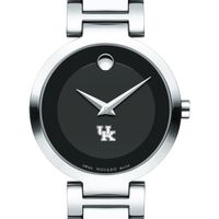University of Kentucky Women's Movado Museum with Steel Bracelet