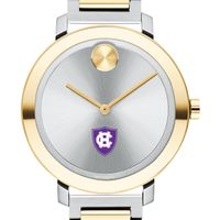 Holy Cross Women's Movado Two-Tone Bold 34