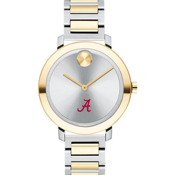 University of Alabama Women's Movado Two-Tone Bold 34 - Image 2
