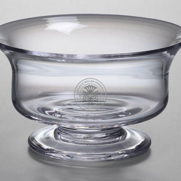 Carnegie Mellon University Simon Pearce Glass Revere Bowl Med - Image 2