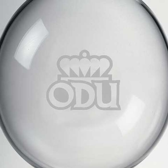 Old Dominion Glass Ornament by Simon Pearce - Image 2