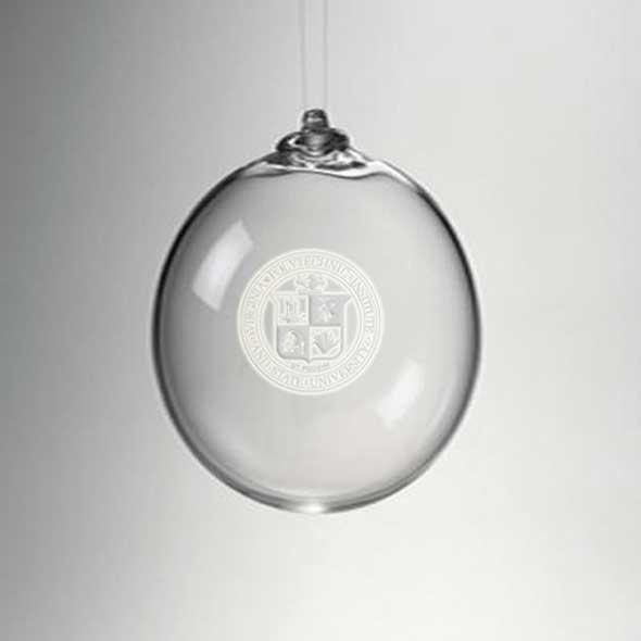 VT Glass Ornament by Simon Pearce - Image 2