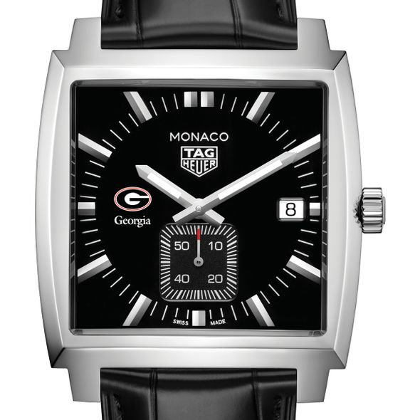 University of Georgia TAG Heuer Monaco with Quartz Movement for Men - Image 1
