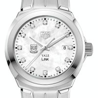 Yale University TAG Heuer Diamond Dial LINK for Women