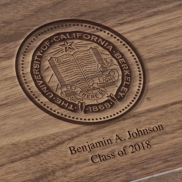 Berkeley Solid Walnut Desk Box - Image 3