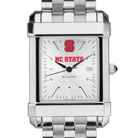 NC State Men's Collegiate Watch w/ Bracelet
