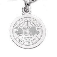 Michigan State Sterling Silver Charm