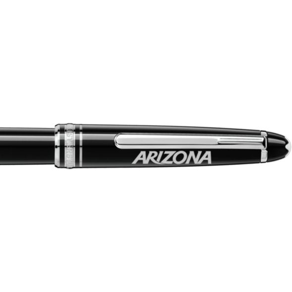 University of Arizona Montblanc Meisterstück Classique Rollerball Pen in Platinum - Image 2