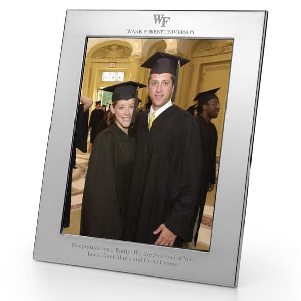 Wake Forest Polished Pewter 8x10 Picture Frame - Image 2