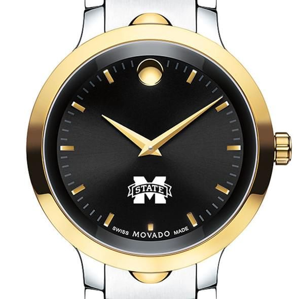 Mississippi State Men's Movado Luno Sport Two-Tone - Image 1