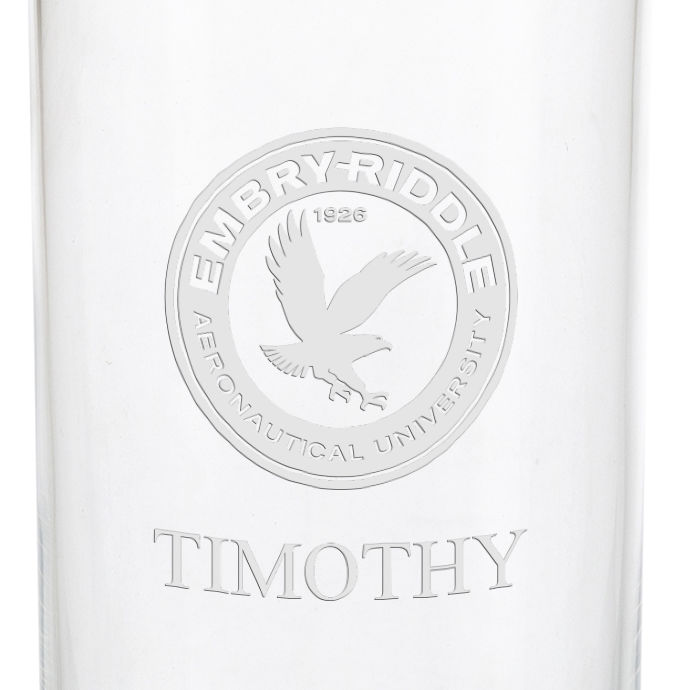Embry-Riddle Iced Beverage Glasses - Set of 2 - Image 3