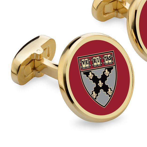Harvard Business School Enamel Cufflinks - Image 2