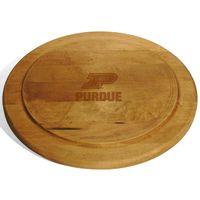 Purdue University Round Bread Server