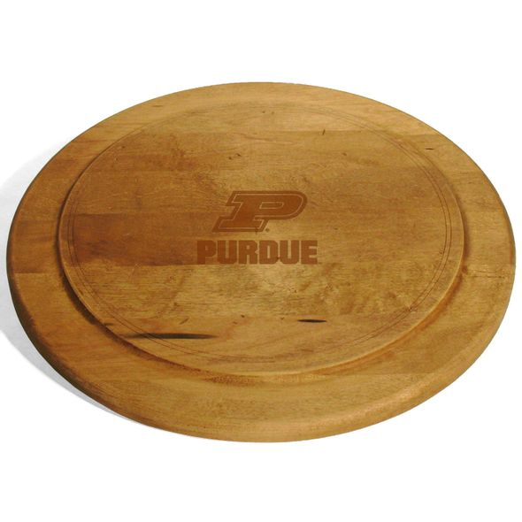Purdue University Round Bread Server