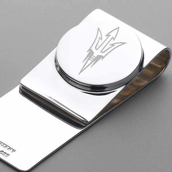 ASU Sterling Silver Money Clip - Image 2