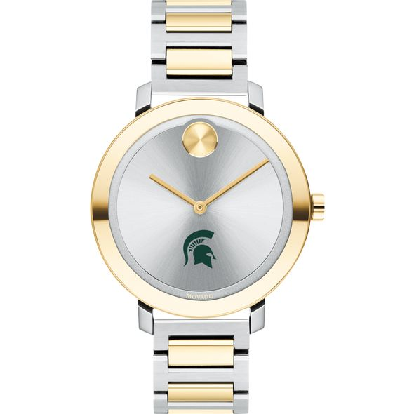 Michigan State University Women's Movado Two-Tone Bold 34 - Image 2