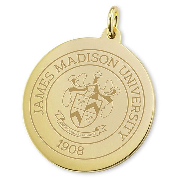 James Madison 18K Gold Charm - Image 2