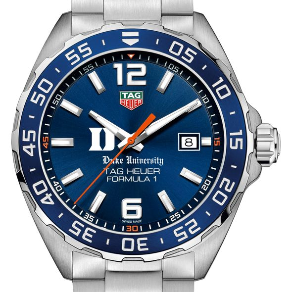 Duke University Men's TAG Heuer Formula 1 with Blue Dial & Bezel