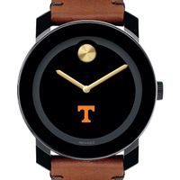 University of Tennessee Men's Movado BOLD with Brown Leather Strap