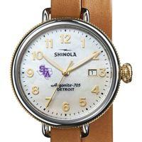SFASU Shinola Watch, The Birdy 38mm MOP Dial