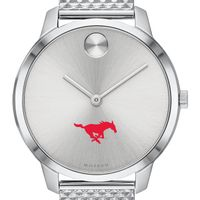 Southern Methodist University Women's Movado Stainless Bold 35
