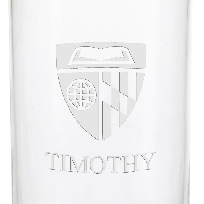 Johns Hopkins University Iced Beverage Glasses - Set of 4 - Image 3