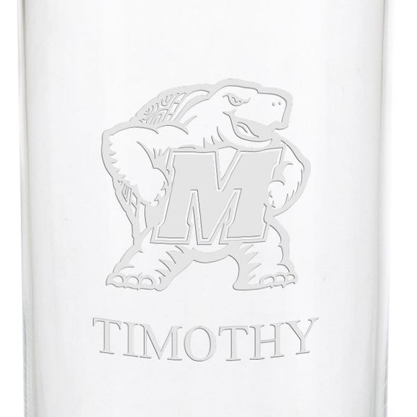 University of Maryland Iced Beverage Glasses - Set of 4 - Image 3