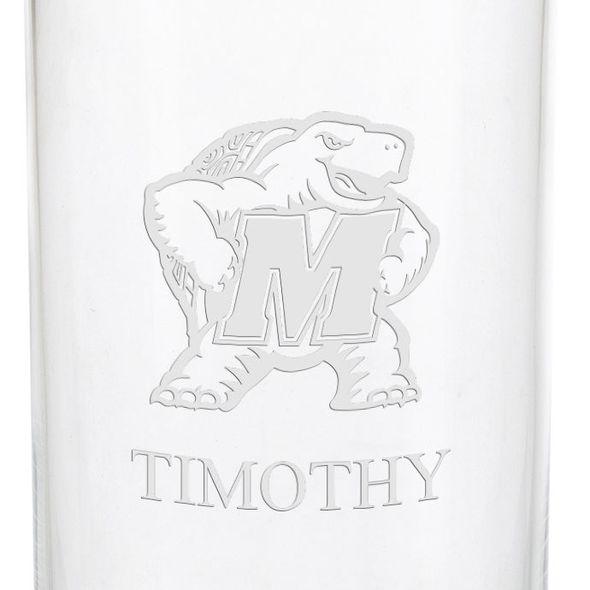 University of Maryland Iced Beverage Glasses - Set of 4 - Image 3