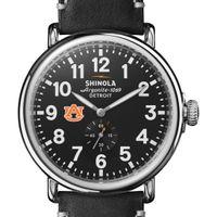 Auburn Shinola Watch, The Runwell 47mm Black Dial