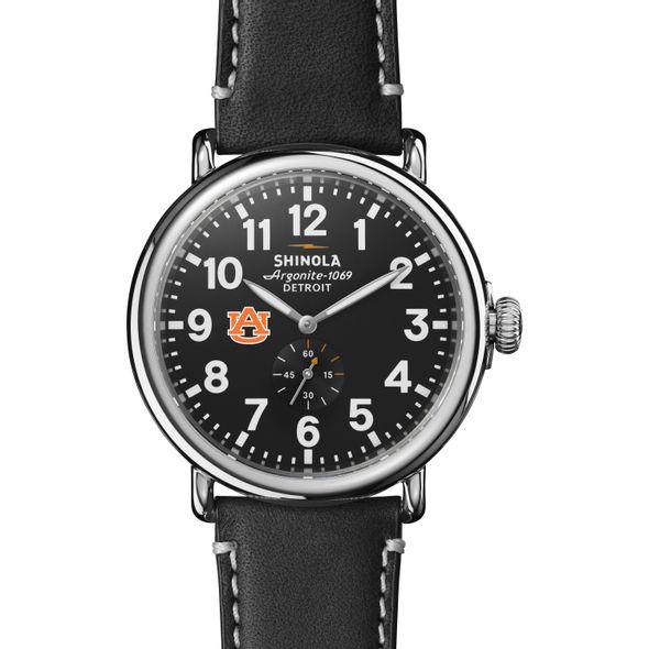 Auburn Shinola Watch, The Runwell 47mm Black Dial - Image 2