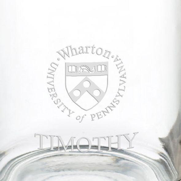 Wharton 13 oz Glass Coffee Mug - Image 3