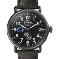 Penn State Shinola Watch, The Runwell 41mm Black Dial