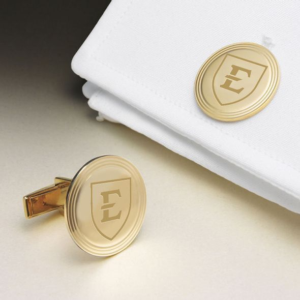 East Tennessee State University 14K Gold Cufflinks