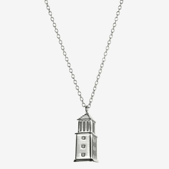 Alabama Sterling Silver Campus Architecture Necklace by Kyle Cavan - Image 2