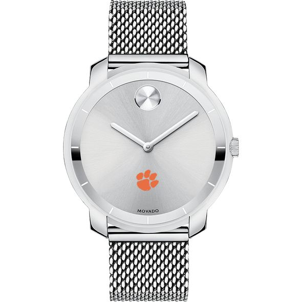 Clemson Women's Movado Stainless Bold 36 - Image 2