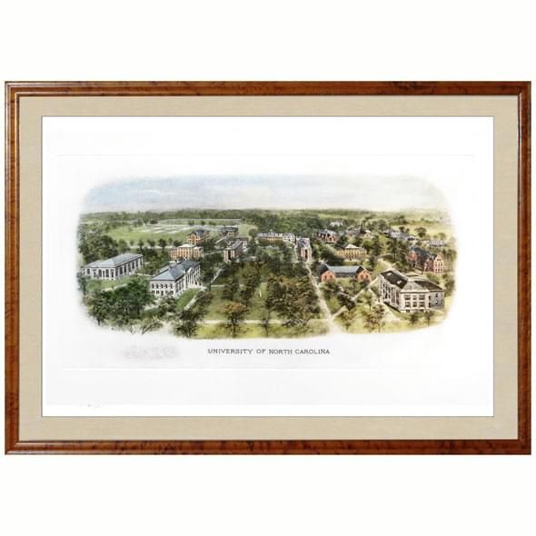 Historic University of North Carolina Watercolor Print