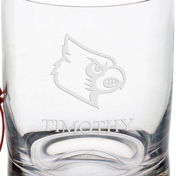 University of Louisville Tumbler Glasses - Set of 4 - Image 3