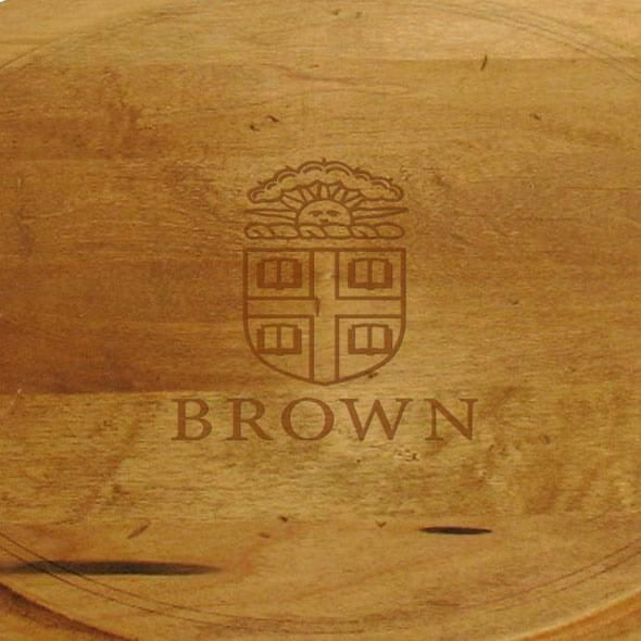 Brown Round Bread Server - Image 2