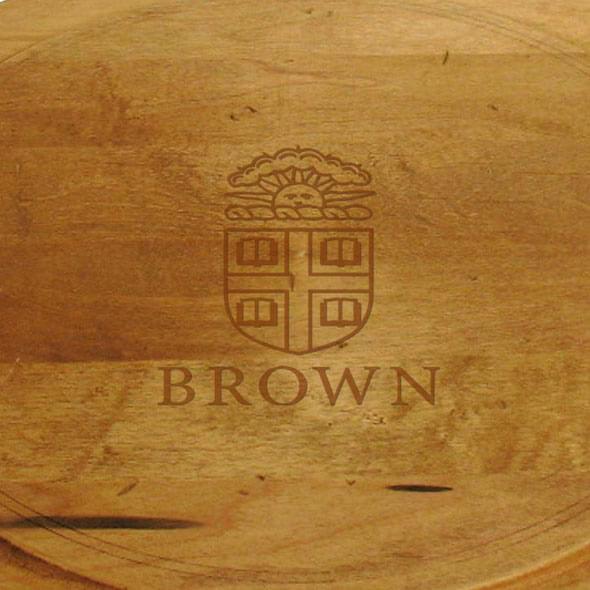 Brown Round Bread Server - Image 2