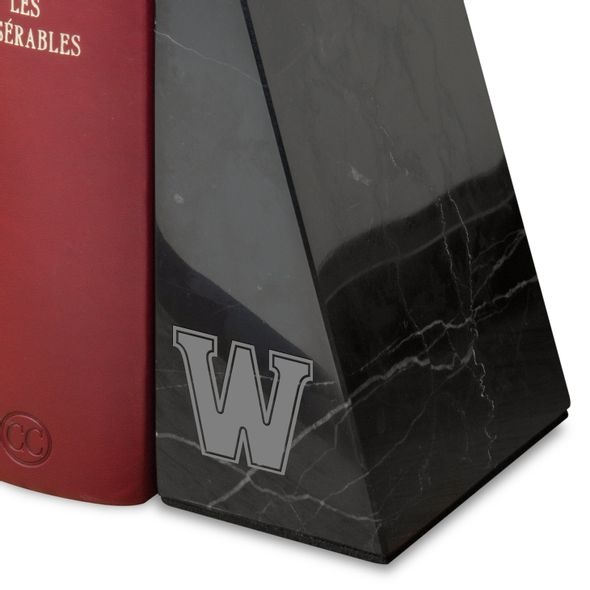 Williams College Marble Bookends by M.LaHart - Image 2