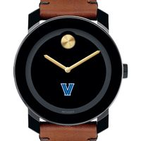 Villanova University Men's Movado BOLD with Brown Leather Strap