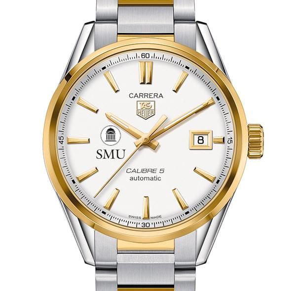 SMU Men's TAG Heuer Two-Tone Carrera with Bracelet