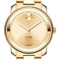 UVA Darden Men's Movado Gold Bold