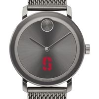 Stanford University Men's Movado BOLD Gunmetal Grey with Mesh Bracelet