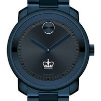Columbia University Men's Movado BOLD Blue Ion with Bracelet