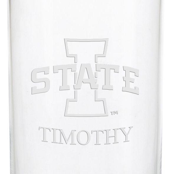 Iowa State University Iced Beverage Glasses - Set of 4 - Image 3