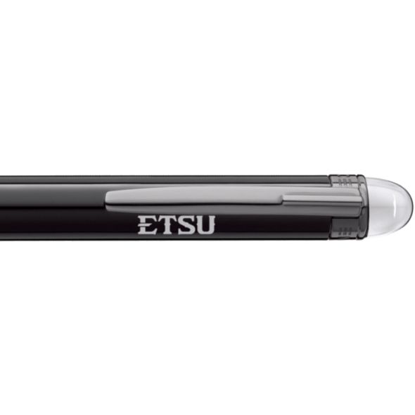 East Tennessee State University Montblanc StarWalker Ballpoint Pen in Ruthenium - Image 2
